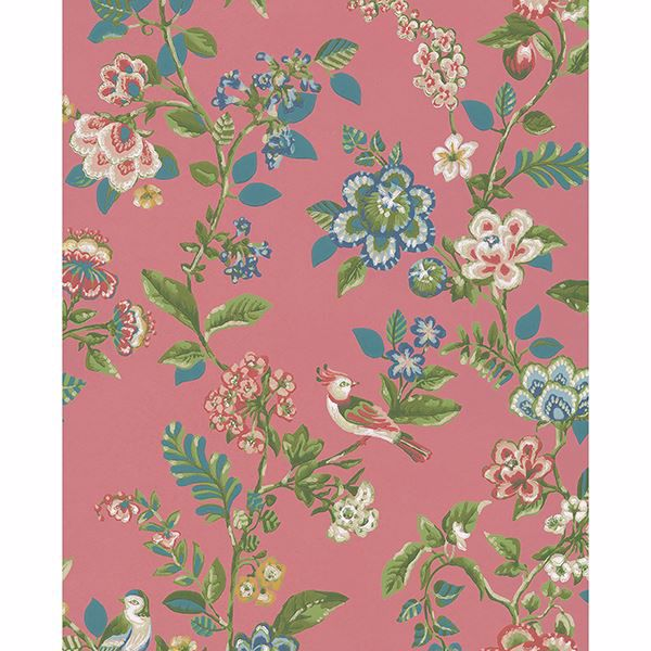 Picture of Willem Mauve Painted Garden Wallpaper