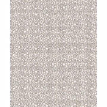 Picture of Lotte Khaki Floral Geometric Wallpaper