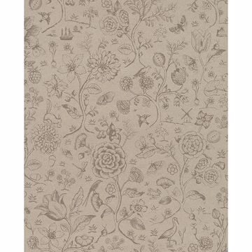 Picture of Ambroos Khaki Woodland Wallpaper
