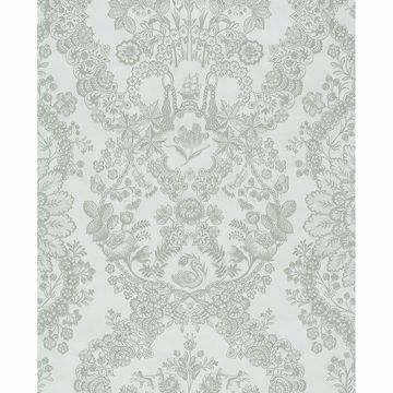 Picture of Grillig Mint Damask Wallpaper