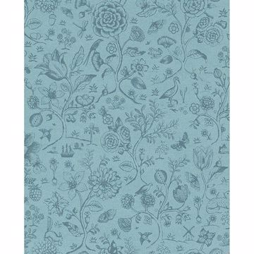 Picture of Ambroos Blue Woodland Wallpaper