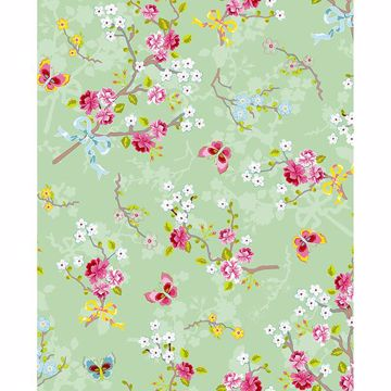 Picture of Ilse Mint Cherry Blossom Wallpaper