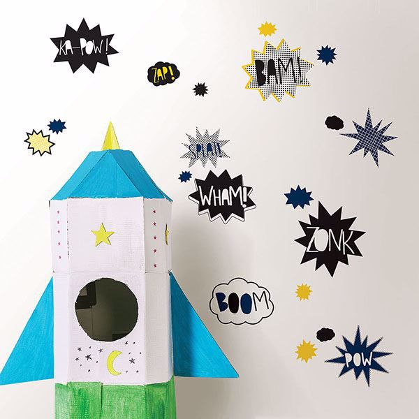 Picture of Super Powers Wall Art Kit