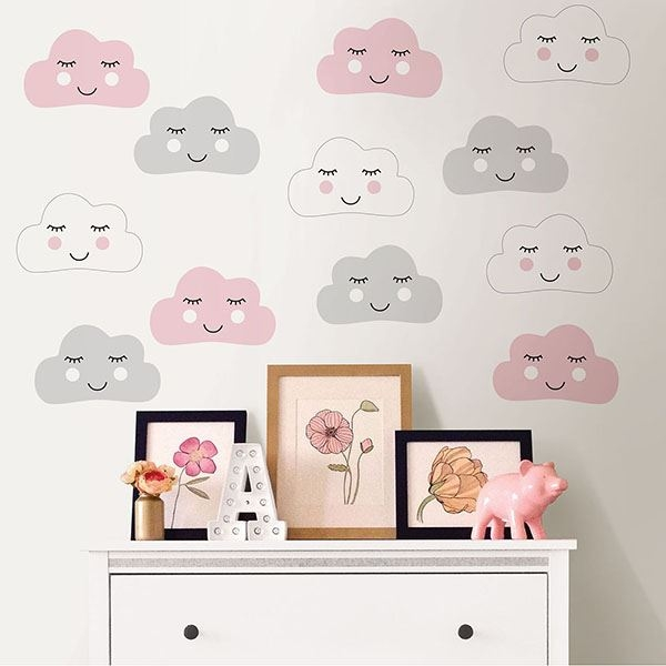 Picture of Head In The Clouds Wall Art Kit