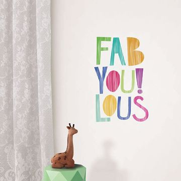 Picture of FabYoulous! Wall Quote Decals