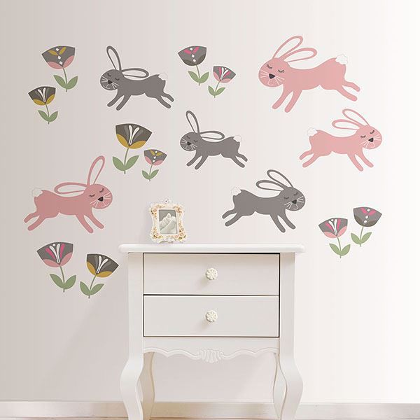 Picture of Love Somebunny Wall Art Kit