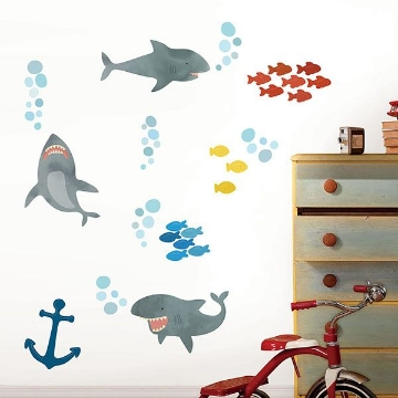 Picture of Shark Attack Wall Art Kit