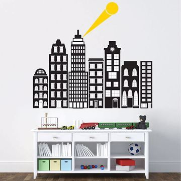 Picture of City Of Heroes Wall Art Kit