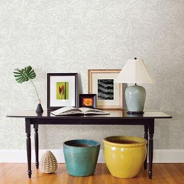 Picture of Ripple Grey Shibori Wallpaper