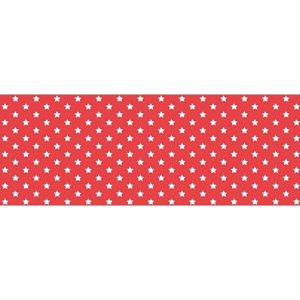 Picture of Red Stars Adhesive Film