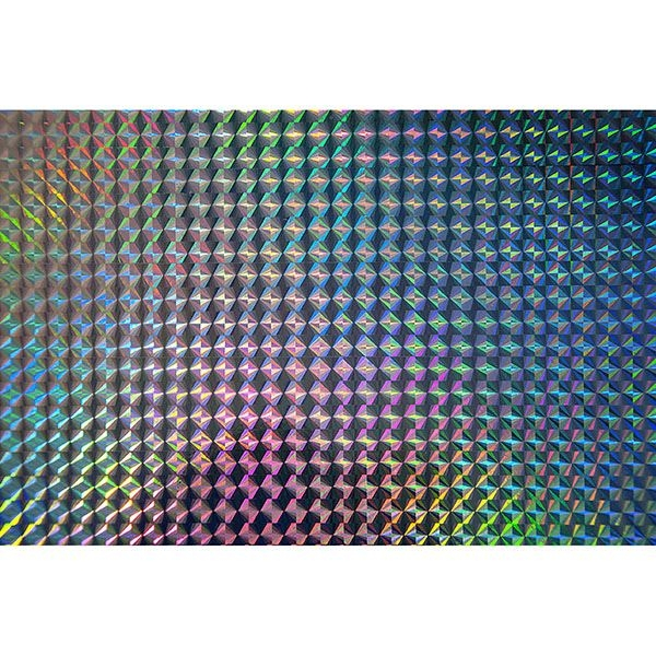Picture of Holographic Silver Mosaic Adhesive Film