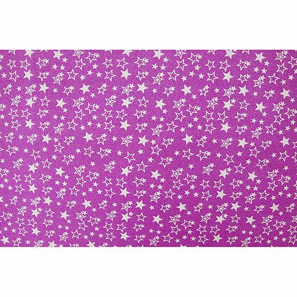 Picture of Pink Glitter Stars Adhesive Film