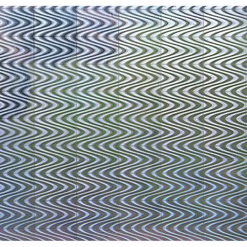 Picture of Holographic Silver Waves Adhesive Film