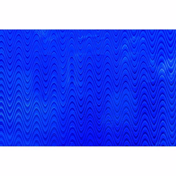 Picture of Holographic Blue Waves Adhesive Film