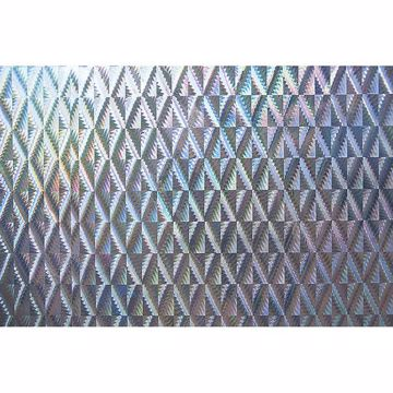Picture of Holographic Silver Diamond Adhesive Film