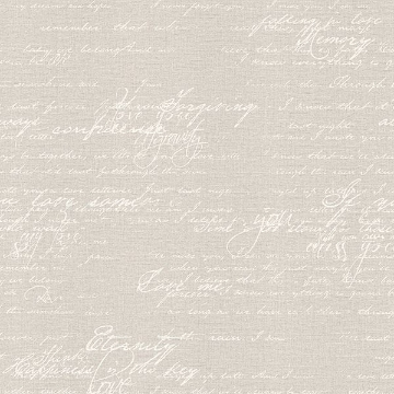 Picture of Nouvel Light Grey Script Wallpaper