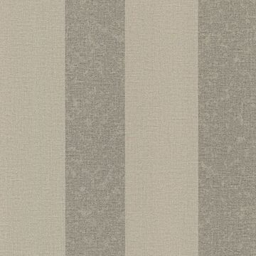 Picture of Dash Taupe Linen Stripe Wallpaper