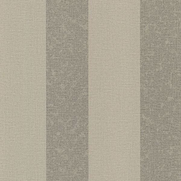 Picture of Dash Taupe Linen Stripe Wallpaper