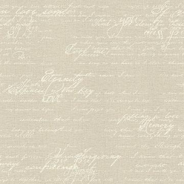 Picture of Nouvel Beige Script Wallpaper