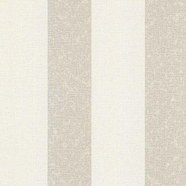 Picture of Dash Beige Linen Stripe Wallpaper