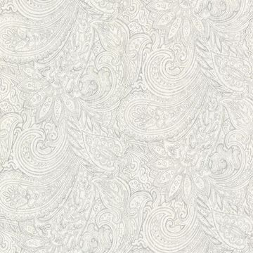 Picture of Lula Grey Paisley Wallpaper