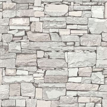 Picture of Tallulah Grey Stone Wallpaper