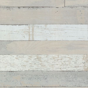 Picture of Teton Taupe Wood Plank Wallpaper