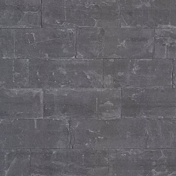 Picture of Sacramento Black Seamless Slate Wallpaper