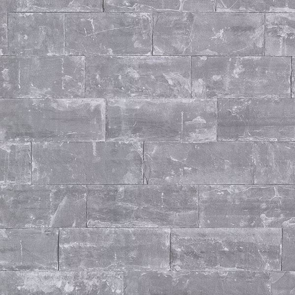 Picture of Sacramento Grey Seamless Slate Wallpaper