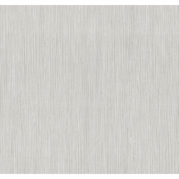 Picture of Ellington Light Grey Horizonal Striped Texture Wallpaper