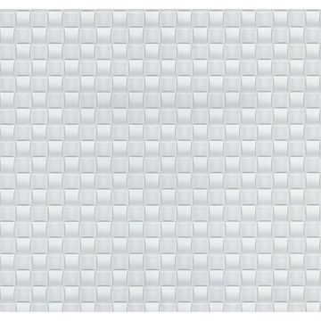Picture of Chet Silver Tile Texture Wallpaper
