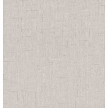 Picture of Tatum Light Grey Fabric Texture Wallpaper