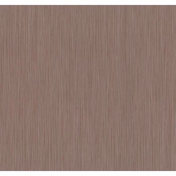 Picture of Ellington Brown Horizonal Striped Texture Wallpaper