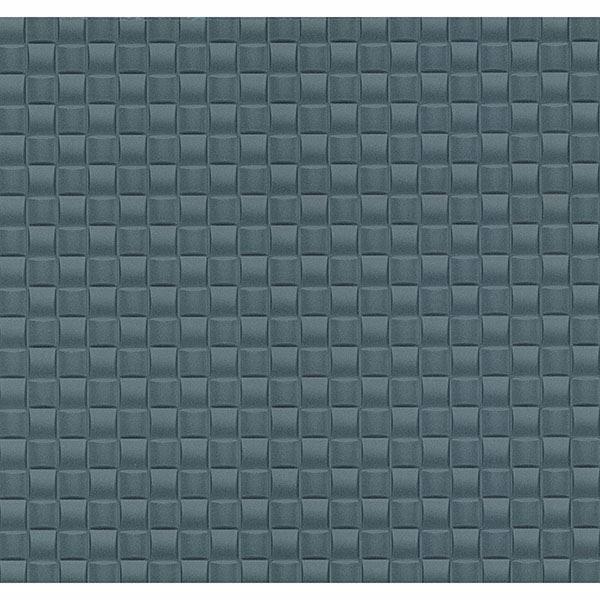 Picture of Chet Blue Tile Texture Wallpaper