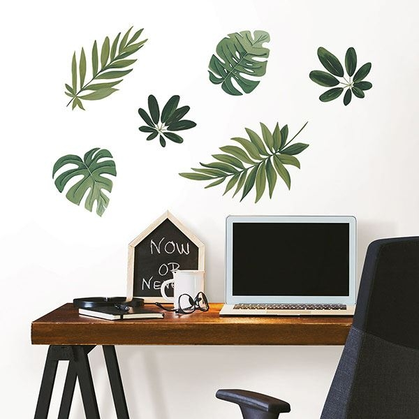 Picture of Havana Leaves Wall Art Kit