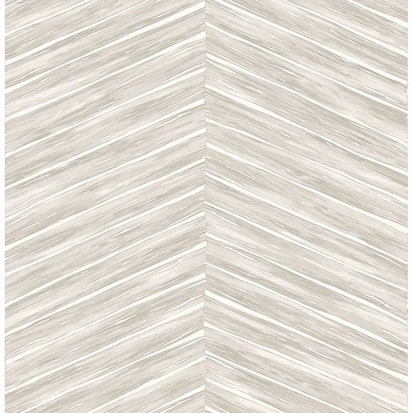 Picture of Pina Light Grey Chevron Weave Wallpaper