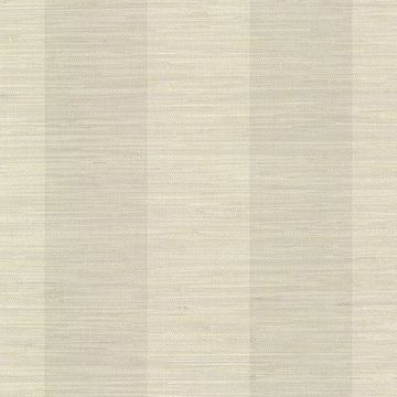 Picture of Pasadena Neutral Grasscloth Stripe Wallpaper