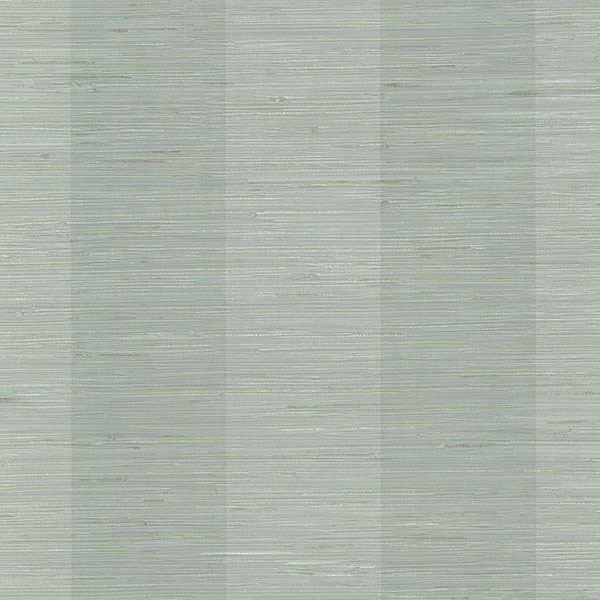 Picture of Pasadena Aqua Grasscloth Stripe Wallpaper