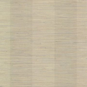 Picture of Pasadena Grey Grasscloth Stripe Wallpaper