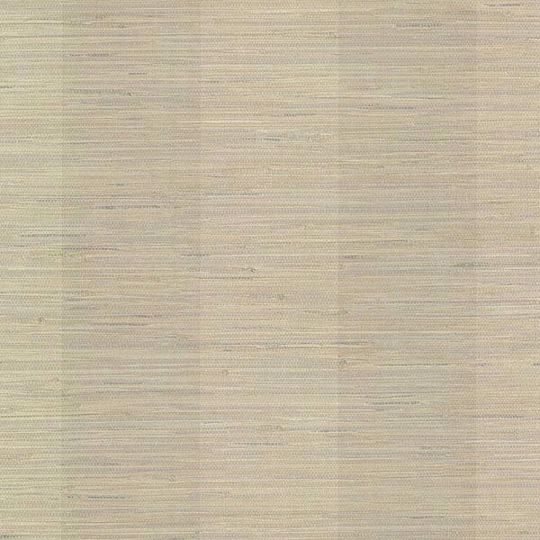 Picture of Pasadena Grey Grasscloth Stripe Wallpaper