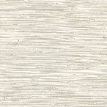 Picture of Fiber Off-White Weave Texture Wallpaper