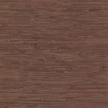 Picture of Fiber Maroon Weave Texture Wallpaper