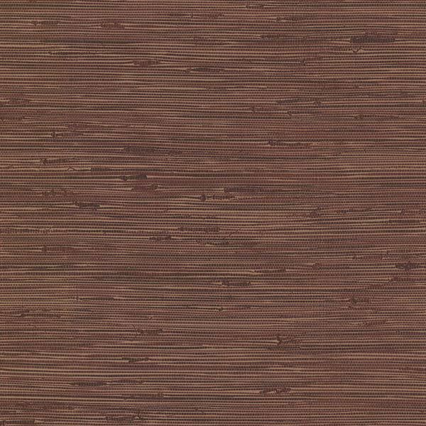 Picture of Fiber Maroon Weave Texture Wallpaper