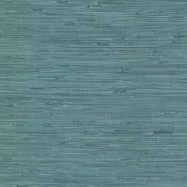 Picture of Fiber Blue Weave Texture Wallpaper