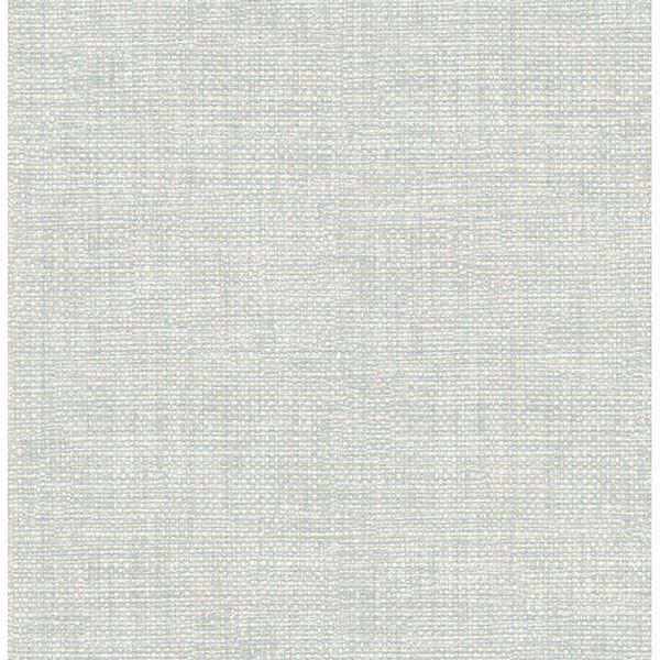 Picture of Twine Light Blue Grass Weave Wallpaper
