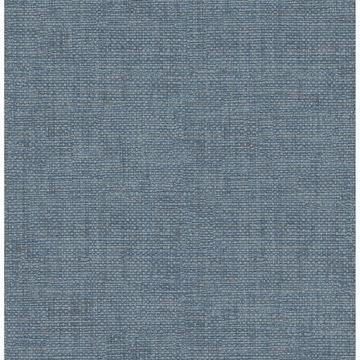 Picture of Twine Blue Grass Weave Wallpaper
