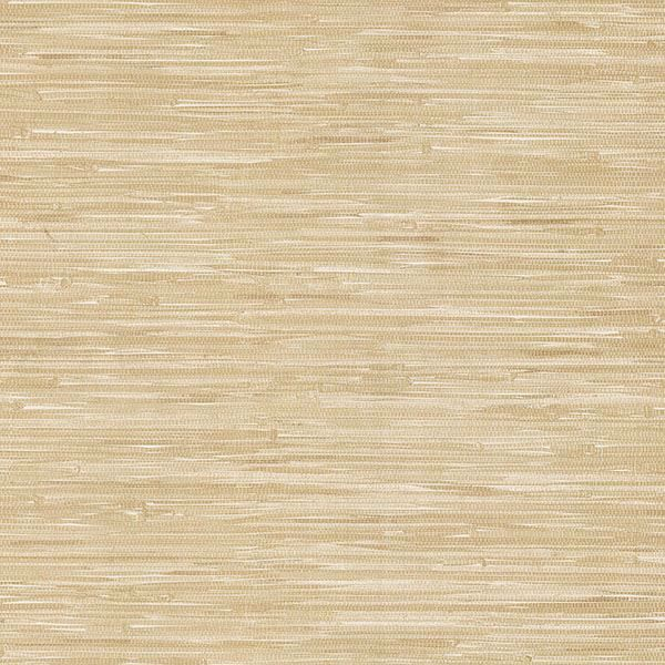 Picture of Cate Neutral Vinyl Grasscloth Wallpaper