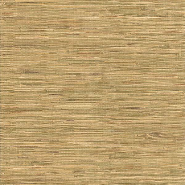 Picture of Cate Light Green Vinyl Grasscloth Wallpaper