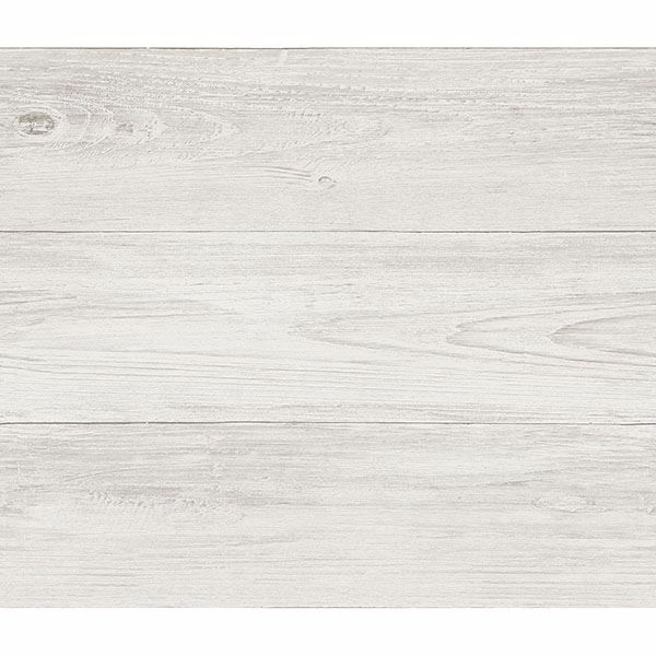 Picture of Thatcher Off-White Wood Wallpaper