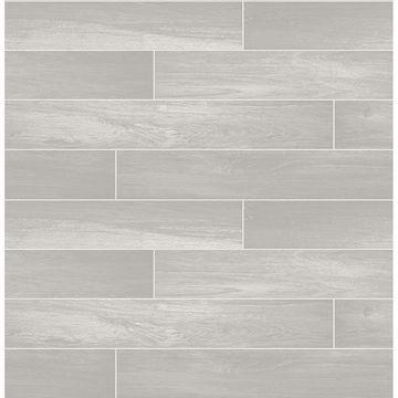 Picture of Nika Grey Sleek Wood Wallpaper